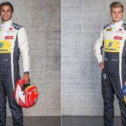 Felipe Nasr y Ericsson luciendo sus nuevos monos - LaF1.es