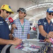 Felipe Nars y Marcus Ericsson en Austria - LaF1
