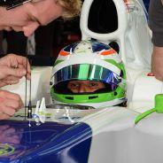 """De Silvestro, contenta con su primer día en un F1: """"Es increíble"""""""
