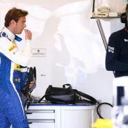 Giedo Van der Garde en el box de Sauber en Australia- LaF1.es