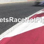 """""""Corramos, no luchemos"""", se lee en la imagen con la que Sauber acompaño su comunicado - LaF1"""