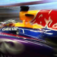 Sebastian Vettel durante el Gran Premio de Singapur - LaF1