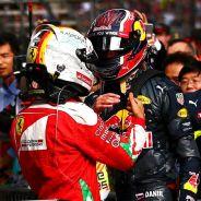 Vettel considera que no es culpable del descenso de Kvyat - LaF1