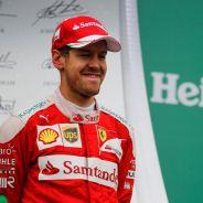Vettel acabó muy contento tras el ritmo mostrado por Ferrari - LaF1