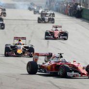 Vettel quiere más peligro en la F1 - LaF1