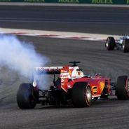 Vettel se ha retirado en la vuelta de formación - LaF1