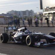 Sergey Sirotkin en el circuito de Sochi - LaF1