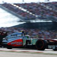 Sergio Pérez durante el Gran Premio de Estados Unidos - LaF1