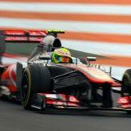 McLaren en el GP de la India F1 2013: Viernes