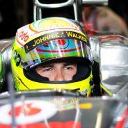 Sergio Pérez en Monza - LaF1
