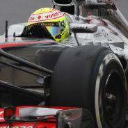Sergio Pérez sufrió con los Pirelli en Corea - LaF1