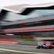 Mark Webber en el circuito de Silverstone - LaF1