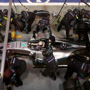 Las presiones de los neumáticos, punto débil de Mercedes - LaF1