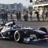 Sergey Sirotkin fue el primero en rodar con un Fórmula 1 en Sochi - LaF1