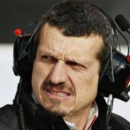 Steiner, durante unos test del equipo Haas - LaF1
