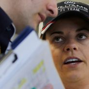 Susie Wolff durante los test de jóvenes pilotos - LaF1