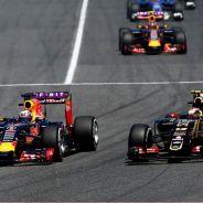 Rivalidad aparentemente sana entre Renault y Red Bull - LaF1