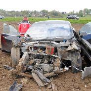 La foto del accidente ha sido publicada en el diario local Merkur.de - SoyMotor