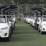 Nunca viste tantos Tesla juntos: récord mundial en China - SoyMotor.com
