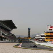 El circuito de Barcelona-Catalunya durante los test post-GP de España de este año - LaF1