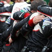 Mecánicos de Toyota en Le Mans - LaF1