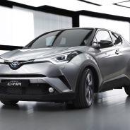En la foto una de las primeras imágenes del Toyota C-HR de producción - SoyMotor