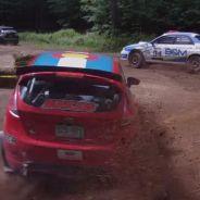 Diferentes trazadas en coches de rally