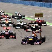 Salida del Gran Premio de Europa de 2012 - LaF1