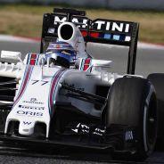 Valtteri Bottas durante los test de pretemporada en Barcelona - LaF1