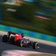 Max Verstappen con el Toro Rosso en Hungría - LaF1