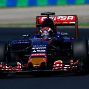 Max Verstappen con el Toro Rosso - LaF1