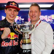 Max y Jos Verstappen en Barcelona - LaF1