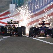 Pastor Maldonado y Max Verstappen en Baréin - LaF1