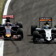 Verstappen realizó sobre Pérez el mejor adelantamiento de la carrera de Brasil - LaF1