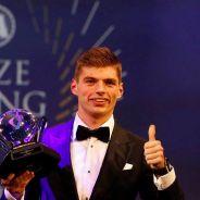 Max Verstappen en la gala de la FIA - LaF1