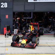 Daniel Ricciardo y Max Verstappen en Silverstone - LaF1