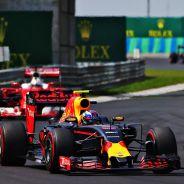 Verstappen perdió su posición con Vettel después de la primera ronda de paradas - LaF1