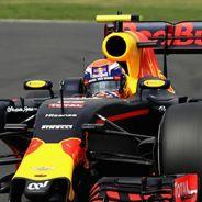 Verstappen, durante la carrera en el GP de México - LaF1