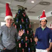 Verstappen y Sainz celebran la Navidad en Faenza - LaF1
