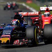 Max Verstappen y Kimi Räikkönen en Bélgica - LaF1