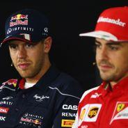 Sebastian Vettel y Fernando Alonso - LaF1
