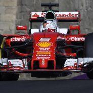 Sebastian Vettel en Bakú - LaF1
