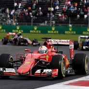 Sebastian Vettel en el pasado Gran Premio de México - LaF1