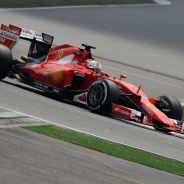 Vettel en el Ferrari SF15-T - LaF1.es