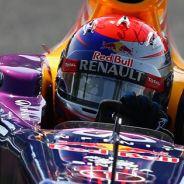 Sebastian Vettel durante la clasificación de Monza - LaF1
