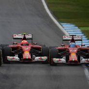 Vettel, Räikkönen y Alonso, en paralelo en el pasado GP de Alemania - LaF1