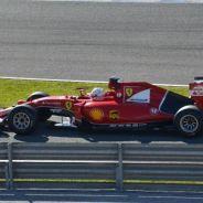 Vettel con el SF15-T en Jerez - LaF1
