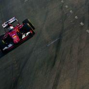 Sebastian Vettel logró su 46ª Pole en una clasificación enormemente extraña en Singapur - LaF1