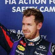 Mark Webber, Sebastian Vettel y Romain Grosjean - LaF1