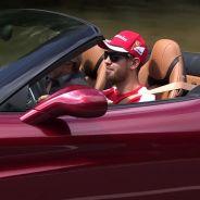 Vettel disfruta del nuevo Ferrari California T -SoyMotor
